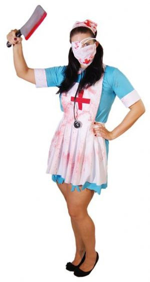 Zombie Nurse Plus Size Halloween Costume